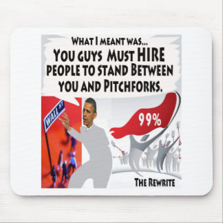 Occupy Obama Mouse Pad