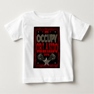 Occupy  Orlando OWS protest 99 strong poster Baby T-Shirt