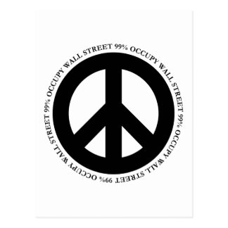 OCCUPY PEACE POST CARD