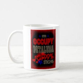 Occupy Petaluma OWS protest gift Basic White Mug