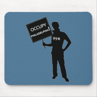 Occupy Philadelphia Sign Mousepads