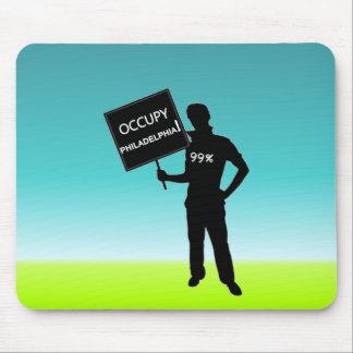 Occupy Philadelphia Sign Mousepad