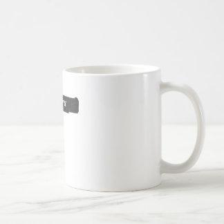 Occupy Rubber Bullet Gun Black Coffee Mug