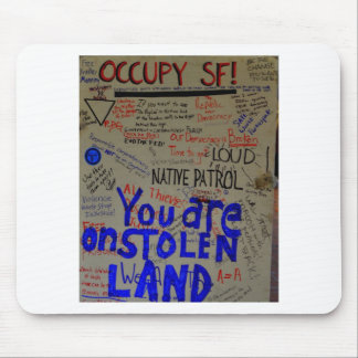 occupy sf mouse pads