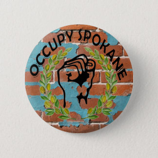 OCCUPY SPOKANE 6 CM ROUND BADGE