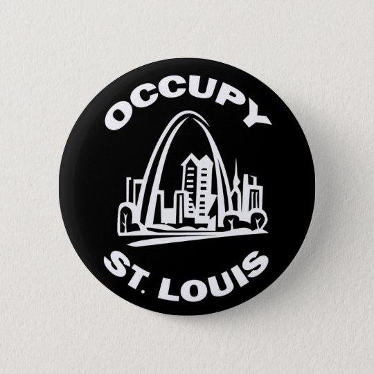 Occupy St. Louis 6 Cm Round Badge