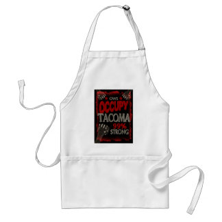 Occupy Tacoma OWS protest 99 percent strong Aprons