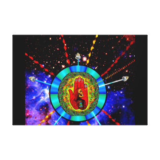 Occupy the Future Stretched Canvas Print