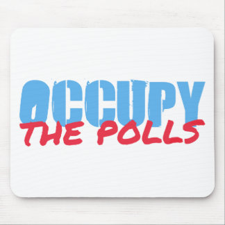 Occupy the Polls Mouse Pads