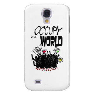 Occupy the World Galaxy S4 Case