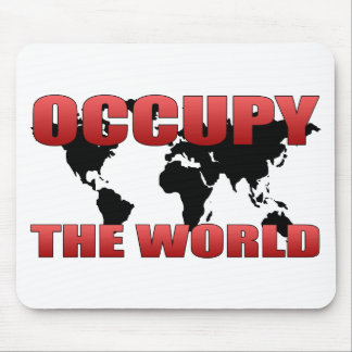 Occupy the World Mouse Pad