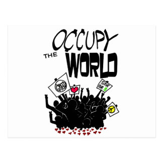 Occupy the World Postcard