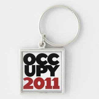 Occupy Wall Street 2011 Key Ring