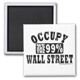 Occupy Wall Street 99% Refrigerator Magnets