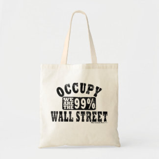 Occupy Wall Street 99% Budget Tote Bag
