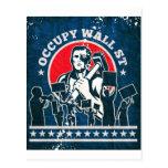 Occupy Wall Street America New York Postcard