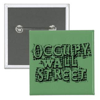 Occupy Wall Street Pins