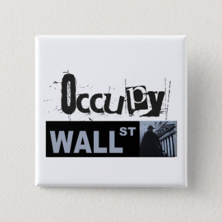 Occupy Wall Street Button