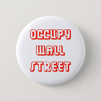"""Occupy Wall Street"" Button"