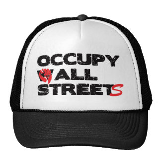 Occupy Wall Street Trucker Hat