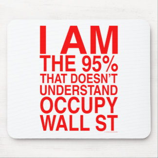 Occupy Wall Street Mouse Pads
