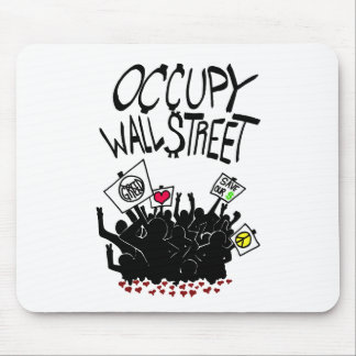 Occupy Wall Street Protest Mouse Pads