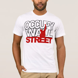 OCCUPY WALL STREET RED T-Shirt
