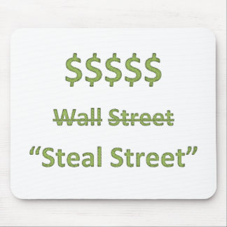 Occupy Wall Street Retro Mouse Pad