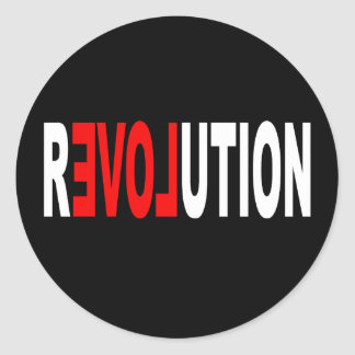 Occupy Wall Street Round Sticker
