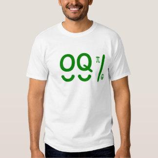 Occupy Wall Street T Shirt - 99 percent OQpi Like