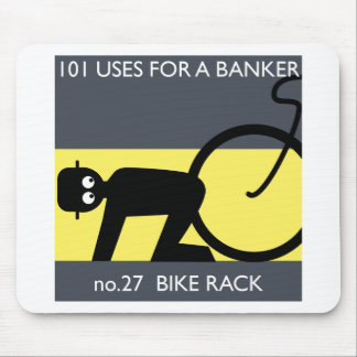 occupy wall street - take your bike! mouse pad