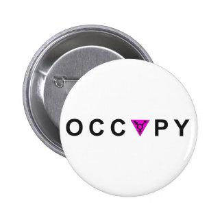 Occupy Wall Street Transgender Pride Pinback Button