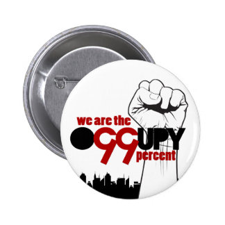 Occupy Wall Street - We are the 99 Percent Pins