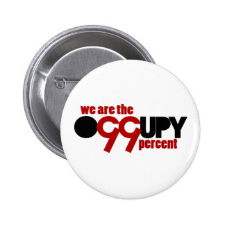 Occupy Wall Street - We are the 99 Percent Pinback Button