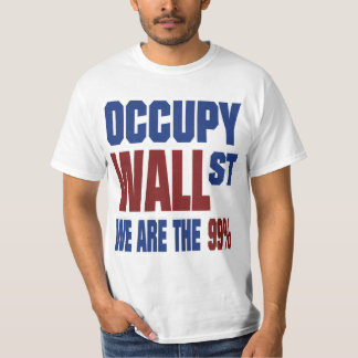 Occupy Wall Street We are the 99% Tshirt