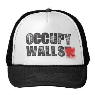 OCCUPY WALLS TRUCKER HATS