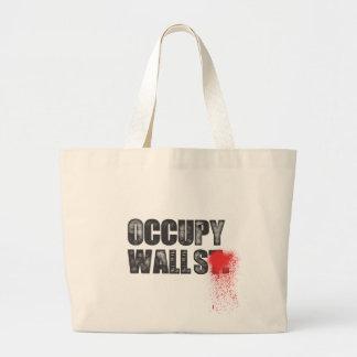 OCCUPY WALLS JUMBO TOTE BAG