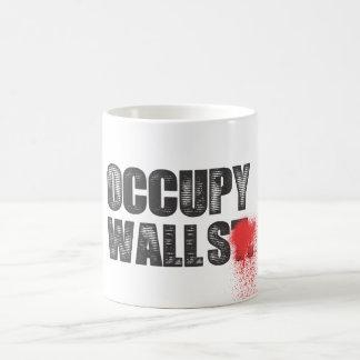 OCCUPY WALLS COFFEE MUG