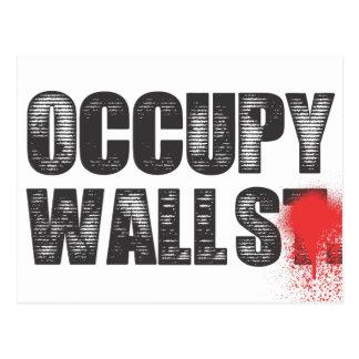 OCCUPY WALLS POSTCARD