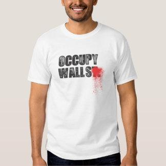 OCCUPY WALLS TSHIRT