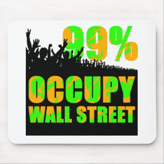 occupy wallstreet mousepad