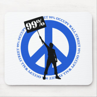 Occupy Wallstreet Mouse Pads