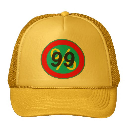 occupy wallstreet - we are the 99% percent trucker hat
