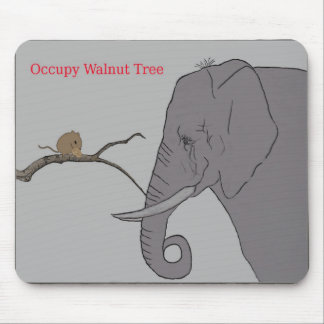 Occupy Walnut Tree Mousepad