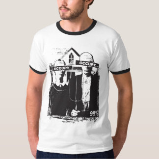 Occupy We Are The 99% American Gothic Shirt