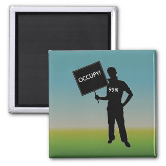 Occupy!  We Are The 99% Refrigerator Magnet