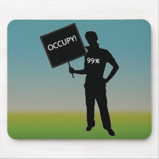Occupy!  We Are The 99% Mouse Pad