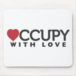 occupy-with-love mouse pad