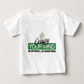 Occupy Your Mind Baby T-Shirt