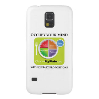 Occupy Your Mind With Dietary Proportions MyPlate Case For Galaxy S5